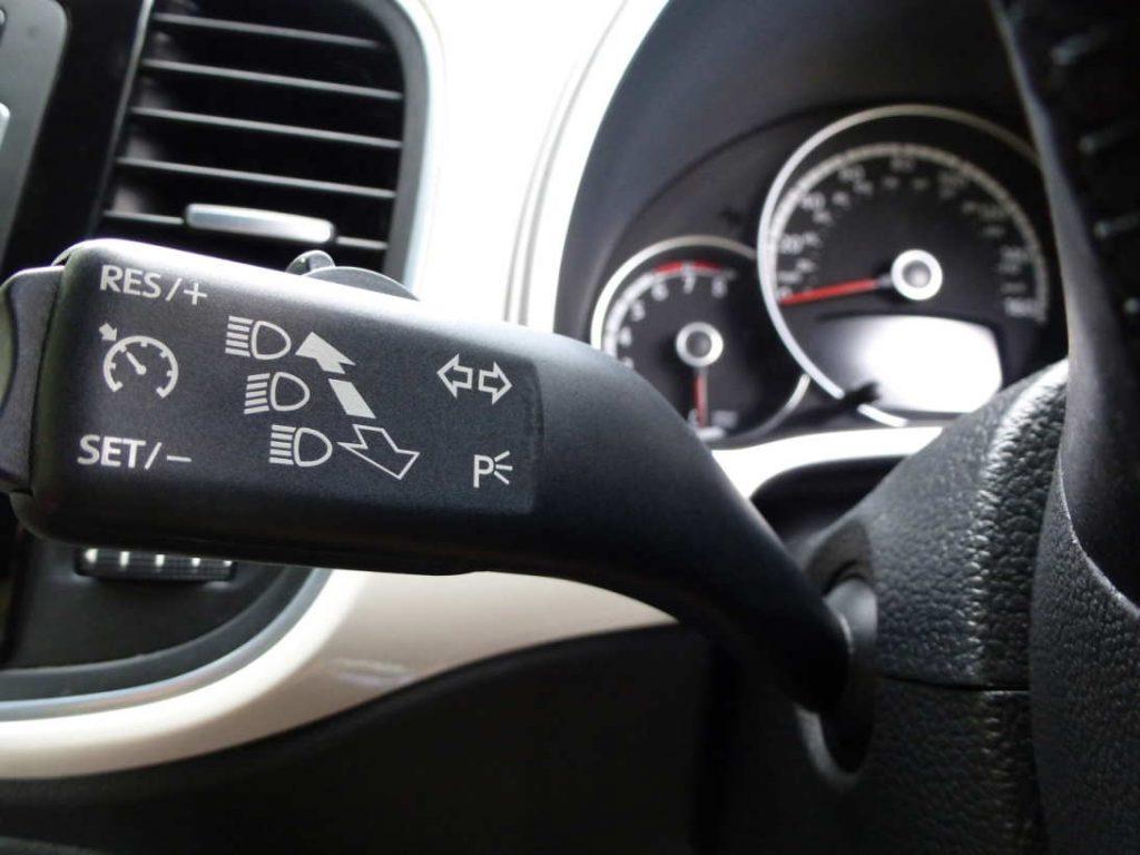 cruise control inside the car