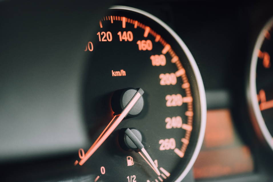 speed limiter dashboard car