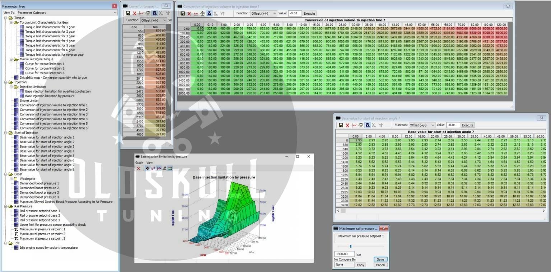 mitsubishi fuso canter tuning maps tunerpro