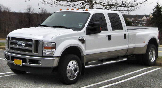 Ford F450 6.4 v8 powerstroke continental sid902