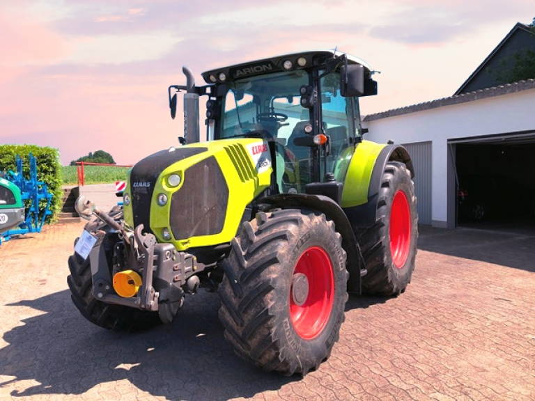 claas arion 530 john deere engine