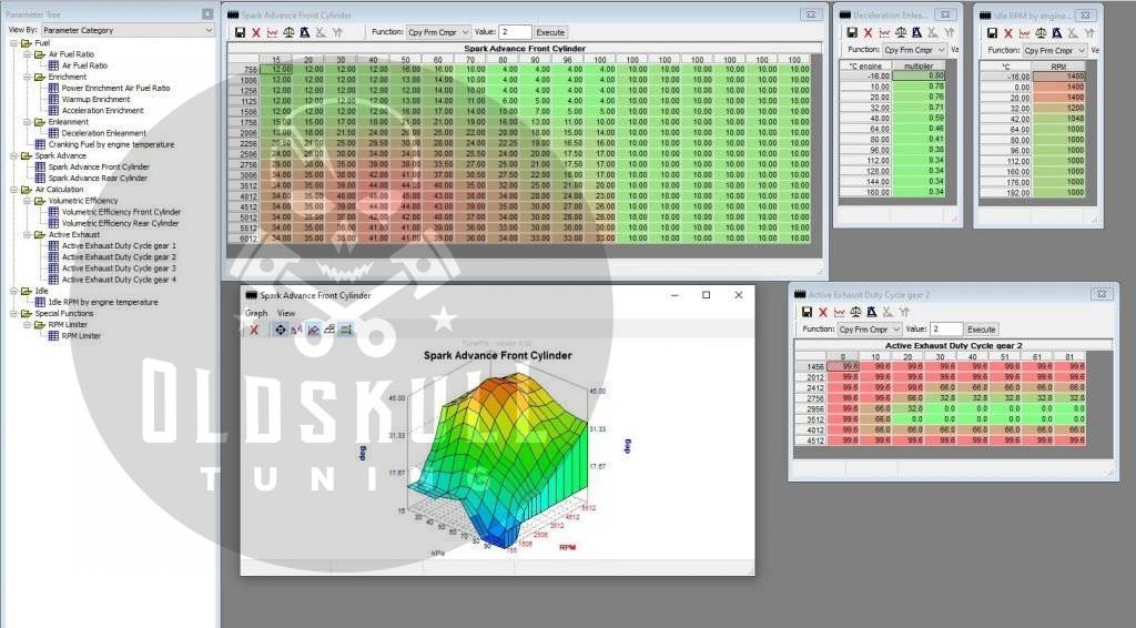 harley davidson ecu delphi remapping tunerpro