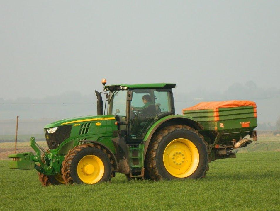 john deere tractor 6r series 6170r 6.8L