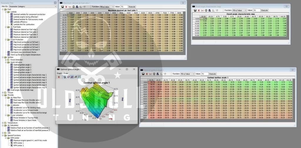 chiptuning maps tunerpro sea doo me17.8.5