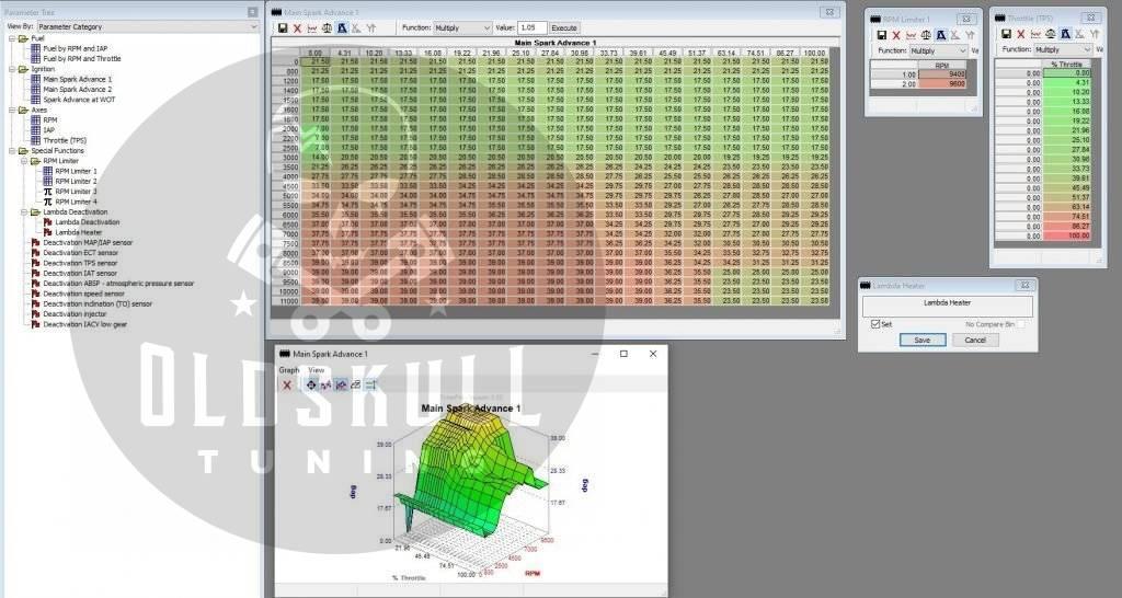 honda keihin h8c remap tunerpro maps