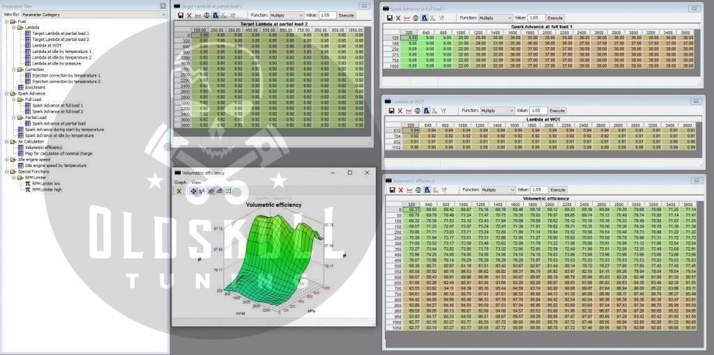 special applications delphi mt05 tunerpro maps