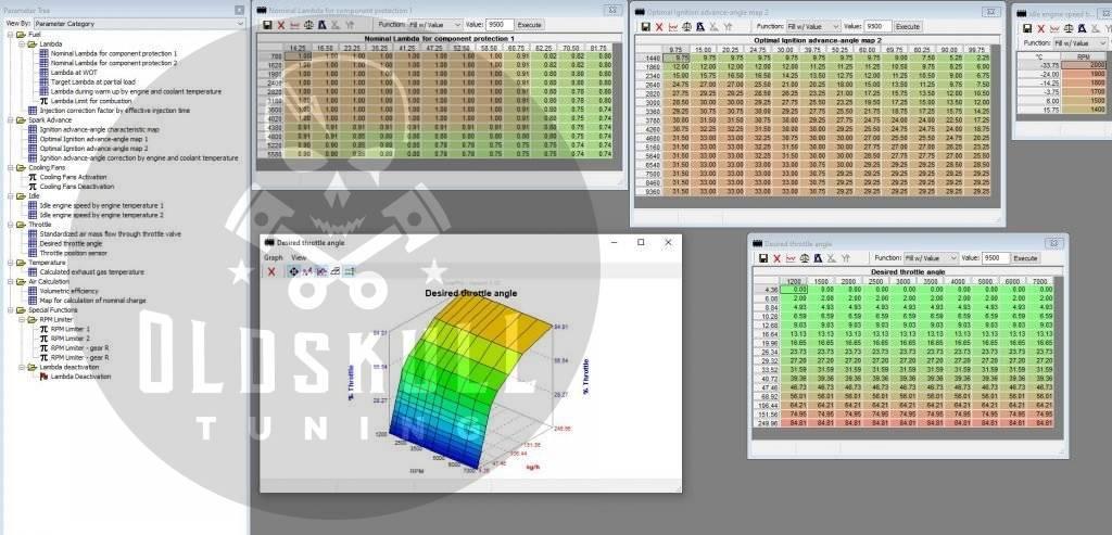 cf moto bosch mse3.0 tuning with tunerpro