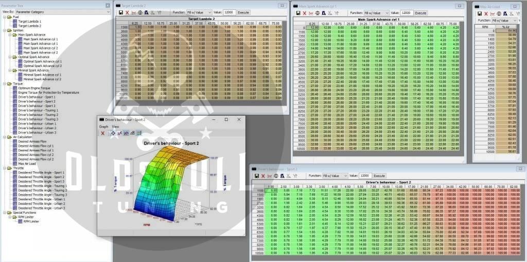 ducati continental easy u1 m3d remap ecu with tunerpro