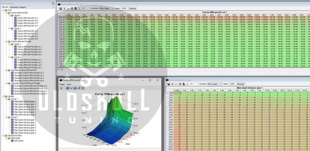 suzuki gsx 1400 remap ecu mitsubishi tunerpro