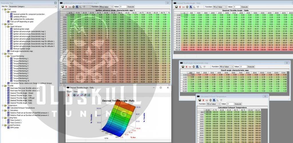 KTM ecu remap Bosch ME17.9.21 using tunerpro
