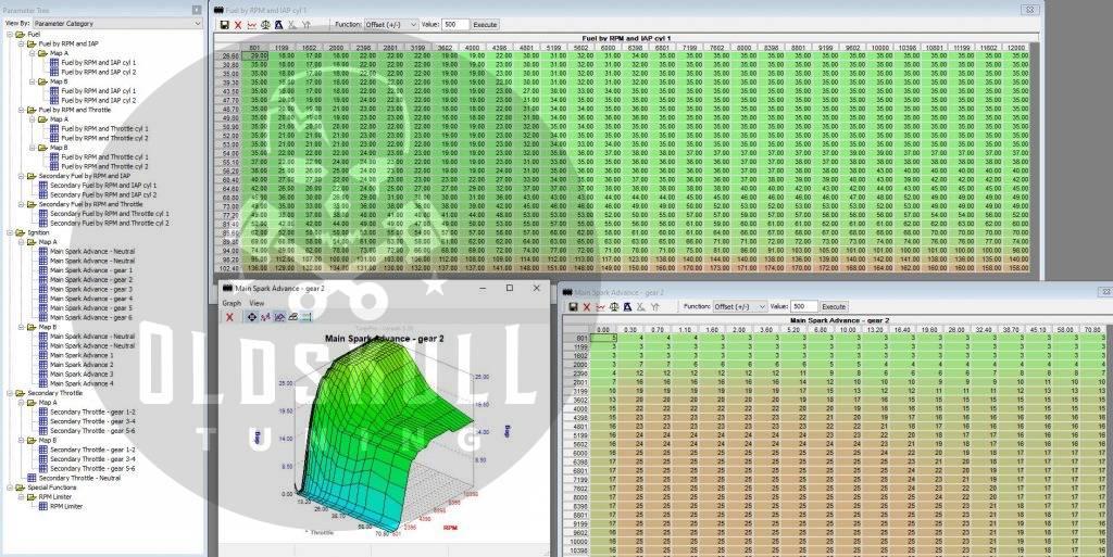 suzuki sv650 remap ecm using tunerpro