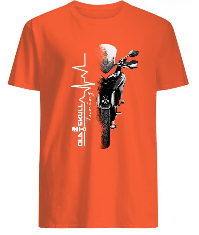 preview tshirt orange oldskulltuning
