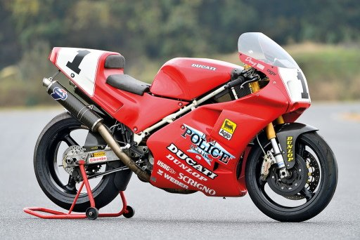 Ducati 888 Magneti Marelli P8 tuning